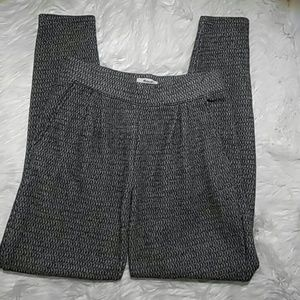 Madewell Gray Pattern Cotton Blend Pants-Size S